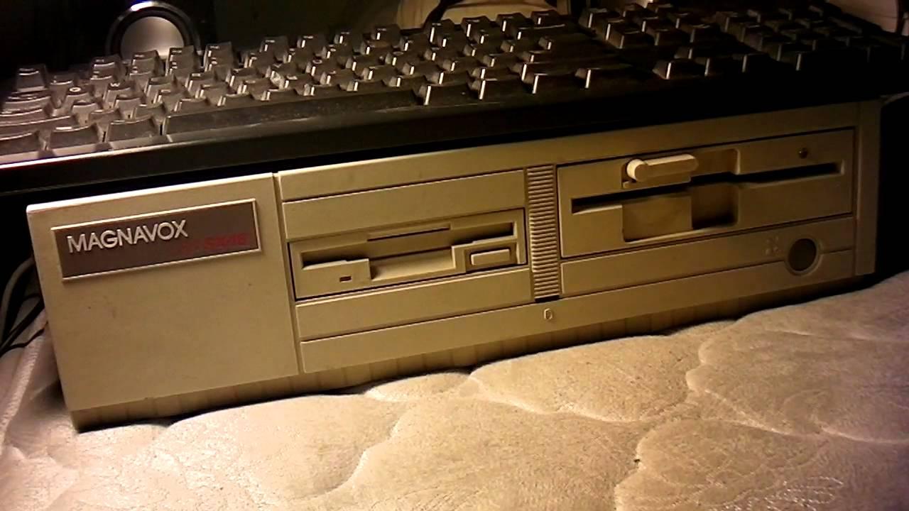 The 1991 Magnavox Pc Returns Youtube