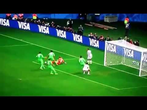 Germany vs Algeria 2-1  All Goals and Highlights World Cup 2014