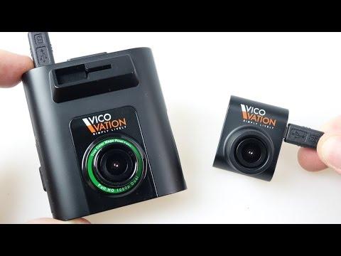 Vico Marcus 5 Dual Camera (Both 1080p HD) Car Dash cam REVIEW