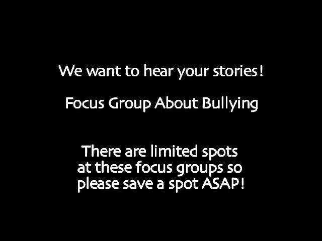 Teaching Teachers About Bullying PSA