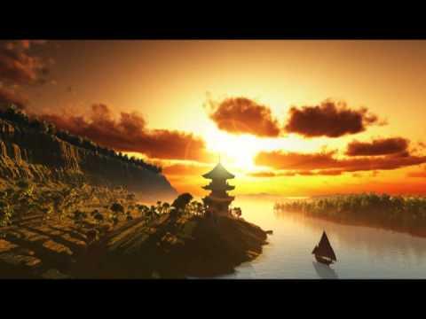 Musica Para Relajarse Ambiental Templo Budista, Flauta Instrumental Relajante Para Escuchar