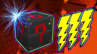 LUCKY ELECTRONIC BLOCKS RACE PARKOUR MOD CHALLENGE - MINECRAFT MODDED MINI-GAME!