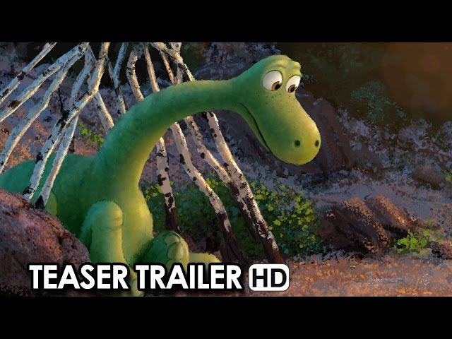 The Good Dinosaur Official Teaser Trailer (2015) HD