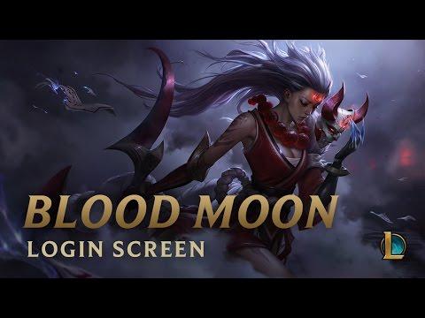 Blood Moon Diana   Login Screen - League of Legends