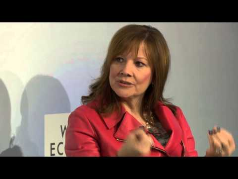 Davos 2015 - An Insight An Idea with Mary Barra