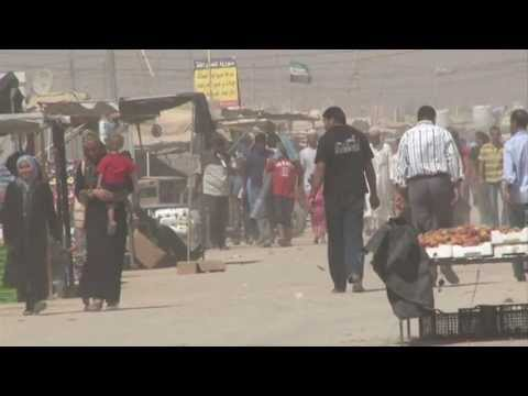 UK aid: helping Syrian refugees in Jordan