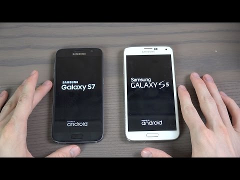Samsung Galaxy S5 Official Android 6.0.1 vs. Samsung Galaxy S7 - Which Is Faster?