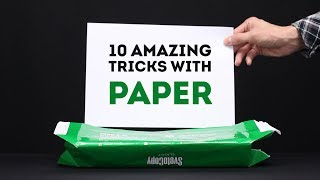 10 AMAZING PAPER TRICKS AND IDEAS from Mr. Hacker