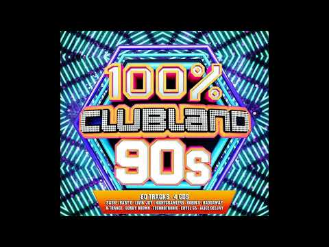 VA - 100% Clubland 90s (2017) Disc: 2
