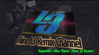 Republik - Aku Takut (Rino L3 Remix)