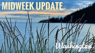 Midweek Update:  Washington Beach, Lavender Farm and a Ferry Ride