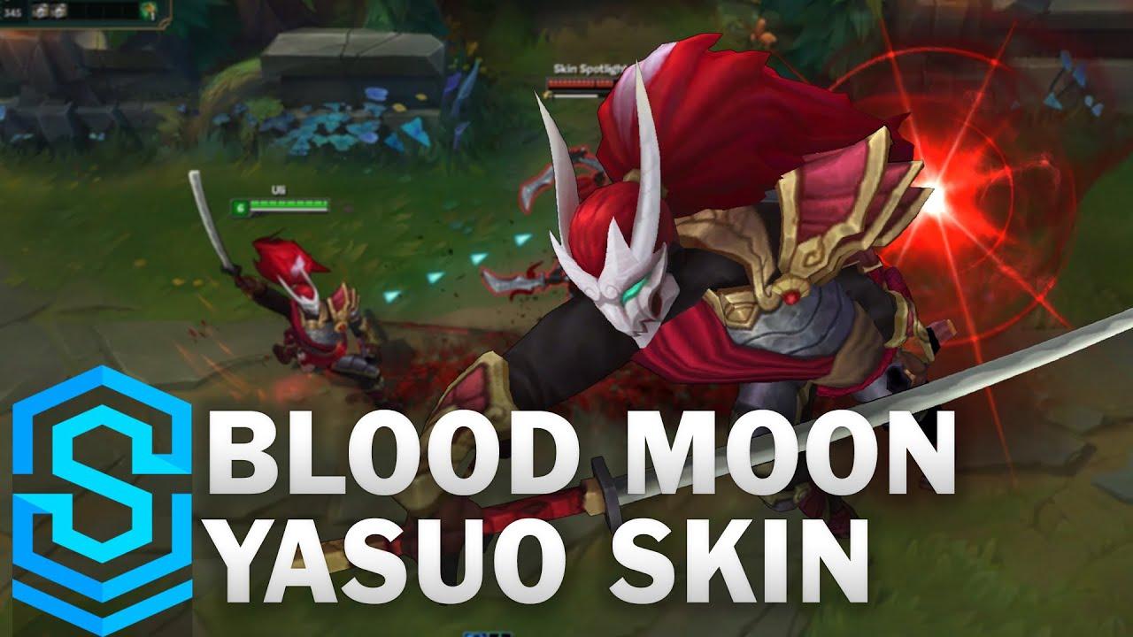 Blood Moon Yasuo Skin Spotlight - Pre-Release - League of Legends
