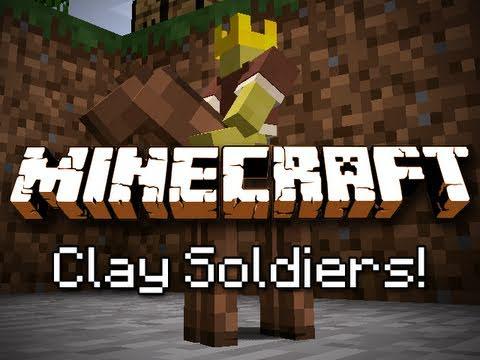 Minecraft: Clay Soldier Mod