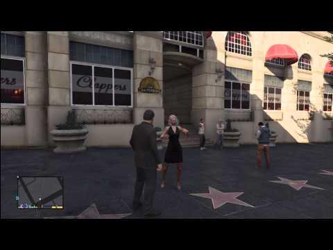 GTA 5: Vinewood Celeberty (Pamela Drake) Location & Getting Knoked Out