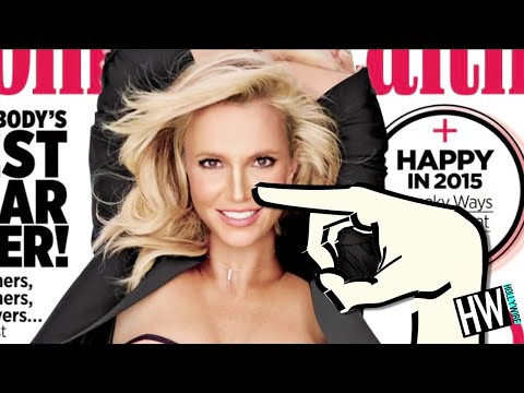 Wtf! Britney Spears Nose Job Controversy! video