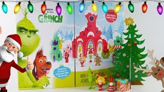 The Grinch Movie Christmas Advent Calendar with 24 Surprise Toys by DCTC Amy Jo