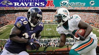 Reed & Raven's Defense WRECK the Wildcat! (Ravens vs. Dolphins, 2008 AFC Wild Card)