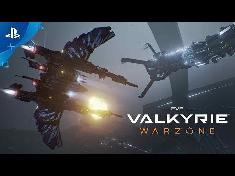 EVE: Valkyrie - Warzone Launch Trailer  PS4, PS VR