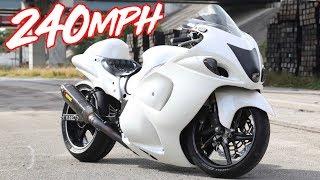 240MPH Nitrous Hayabusa Top Speed Runs! - GTR & Lambo Killer?!