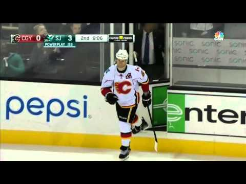 Flames @ Sharks Highlights 11/28/15