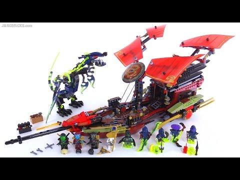 LEGO Ninjago Final Flight of Destiny's Bounty review! set 70738