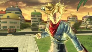 DRAGON BALL XENOVERSE 2 FREE UPDATE SWORD OF HOPE TRUNKS GAMEPLAY