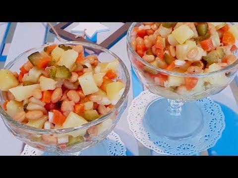 Потрясающе вкусный салат который никогда не приедается.Просто,но очень вкусно!!!