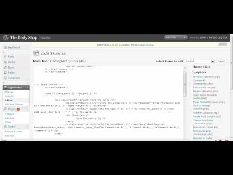 Create a Wordpress blog homepage with exceprts and thumnails