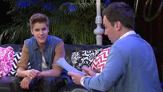 Justin Bieber and Jimmy Fallon - YouTube Presents