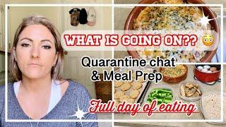 QUARANTINE VLOG | MEAL PREP | FULL DAY OF EATING KETO | IN WITH JEN