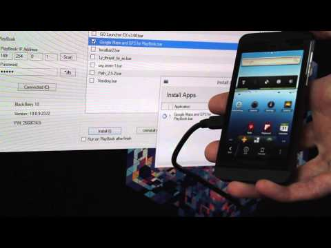 How to put Android apps onto your BlackBerry 10 device