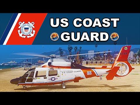 GTA V Rescue V - Coast Guard Patrol - HH-65 Dolphin