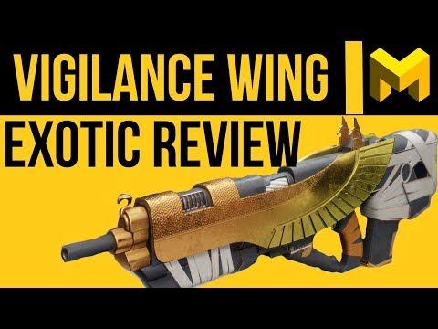 Destiny 2: Vigilance Wing Exotic Review - 5 Shot Pulse