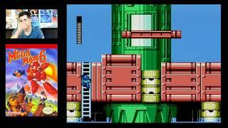 Mega Man 6 (NES) Mike Matei live stream