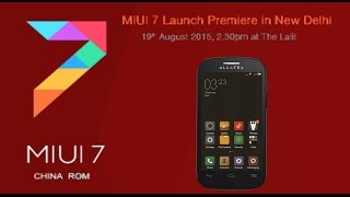 CUSTOM ROM MIUI 7★4.4 KK •ALCATEL OT POP C3