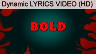 Disturbed - The Brave and the Bold (Dynamic Lyrics Video HD) [Bonus Track from Immortalized]