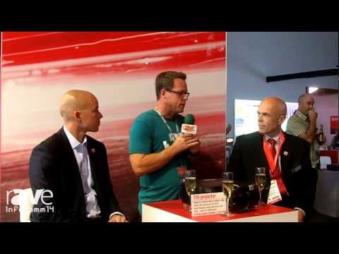 InfoComm 2014: Gary Kayye Interviews Barco's Jorn Erikson and Patrick Lee About the F50 Projector