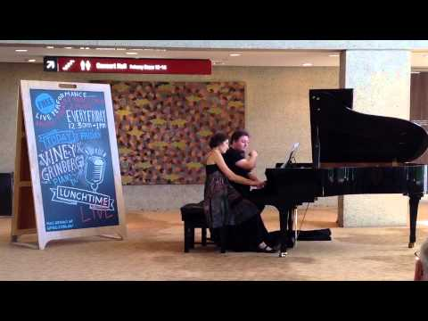 Lunchtime Live 8 May - Viney-Grinberg Piano Duo