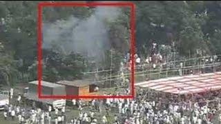 Caught on camera Bombs explode at Modi39 s rally v