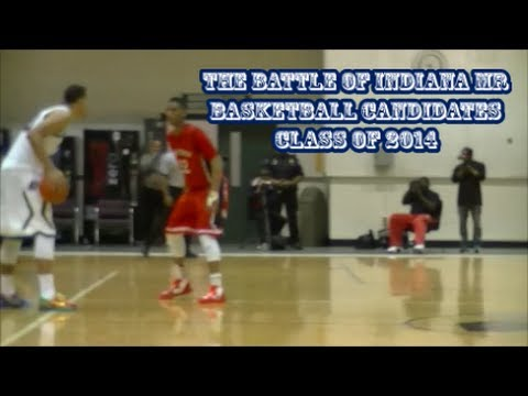 Trevon Bluiett Xavier Commit vs Trey Lyles Kentucky Commit Epic Battle for Indiana Mr Basketball