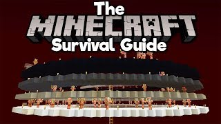 Nether Roof Gold/XP Farm, Pt.1! ▫ The Minecraft Survival Guide (Tutorial Lets Play) [Part 196]