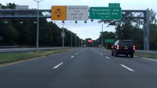 Hutchinson River Parkway (Exits 15 to 1) southbound