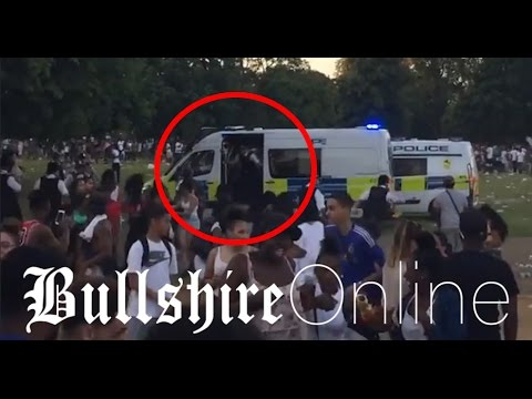 "Dramatic Scenes and ""Police Brutality"" in Hyde Park 19.07.2016"