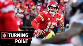 How Mahomes Scrambled for a Solution to Win the AFC | NFL Turning Point
