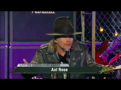 Axl Rose - Golden Gods Awards 2014
