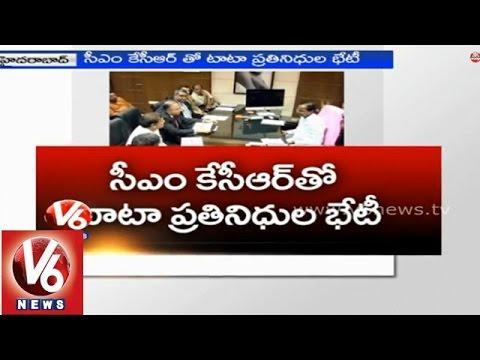 TATA Power CEO Anil Sardana met Telangana CM KCR - Hyderabad