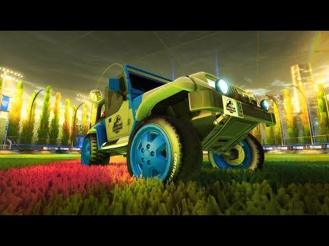 Rocket League Car Review: The Jurassic Jeep