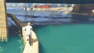 WATER BIKE SKILL TEST (GTA 5 Funny Moments)