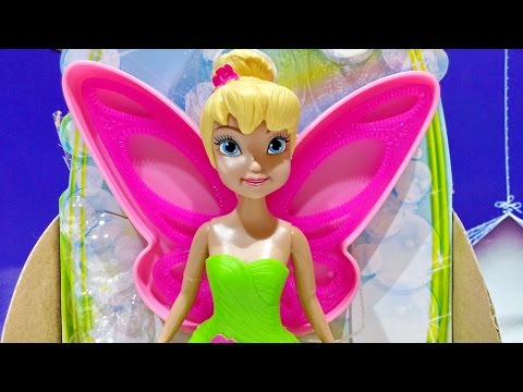 Disney Fairies Bubble Tink Fly And Make Pixie Bubbles With