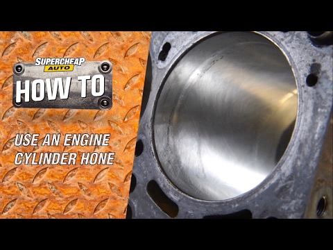 Honeing an Engine Cylinder // ToolPRO Engine Hones